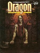 Dragon Magazine No. 211 by Kim Mohan