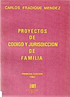 Proyectos de código y jurisdicción de…