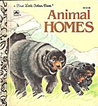 Animal homes (A First little golden book) by…