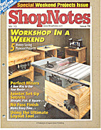 ShopNotes Magazine by August Home Publishing