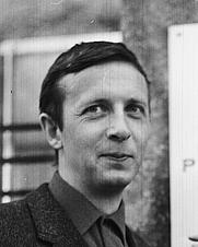 Author photo. Helge Hagerup (1965)<br>Rigmor Dahl Delphin