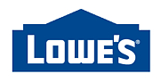 Author photo. Lowe's logo [source: Lowe's via Wikipedia]