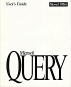 User's Guide Microsoft Query