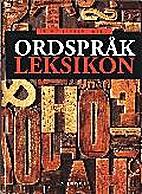 Ordspråkleksikon by Brikt Jensen