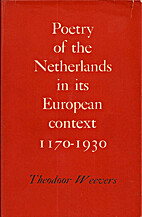 Poetry of the Netherlands in its European…