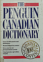 Penguin Canadian Dictionary by Paikeday