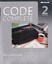 Code Complete: A Practical Handbook of…