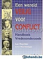 Een wereld veilig voor conflict: Handboek…