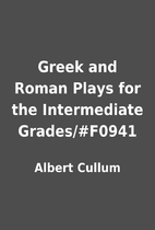 Greek and Roman Plays for the Intermediate…