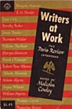 Writers at Work 01 by Malcolm Cowley