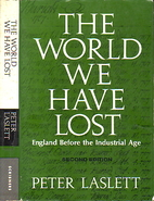 The world we have lost by Peter Laslett