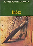 Index De Tweede Wereldoorlog by van den Hoek