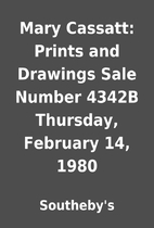 Mary Cassatt: Prints and Drawings Sale…