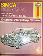 Simca 1100 owner's workshop manual by…