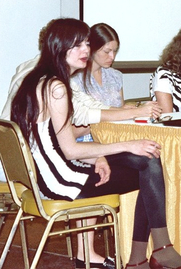 Author photo. Women in Comics panel, San Diego Comic-Con 1982, photo by Alan Light