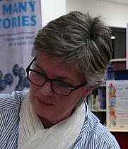Author photo. Susan Duncan. Photo courtesy of Mosman Library.