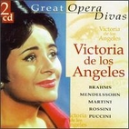 Great Opera divas- Victoria de los Angeles…