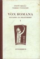Vox romana by Päivö Oksala