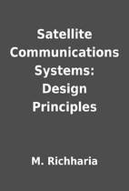 Satellite Communications Systems: Design…