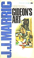 Gideon's Art by J. J. Marric
