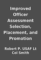 Improved Officer Assessment Selection,…