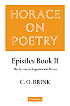 Horace on Poetry. Vol. III: Epistles Book…