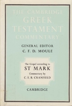 The Gospel according to St Mark: An…