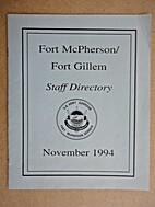 Fort McPherson/Fort Gillem Staff Directory,…