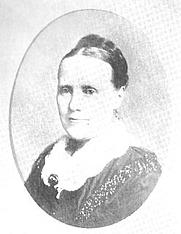 Author photo. Rosanna Eleanora Mullins Leprohon [aka R.E.M.] (c.1829-1879), Buffalo Electrotype and Engraving Co., Buffalo, N.Y.