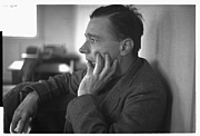 Foto do autor. Walker Evans (1903-1975) Photographed by Edwin Locke, Feb. 1937 (Library of Congress Prints and Photographs Division. Reproduction Number: LC-USF33-4225-M4)