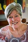 Författarporträtt. Suzanne Fisher Staples