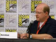 Kirjailijan kuva. Mark Waid, San Diego Comic-Con International 2009, photo by Loren Javier