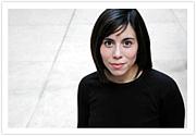 Foto do autor. Cristina Henríquez [Author photos by Sarah Jane Semrad and Michael Lionstar]