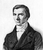 Foto do autor. Claude Frédéric Bastiat. Wikimedia Commons.