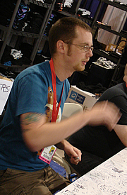 Forfatter foto. San Diego Comic-Con 2009, photo by Lampbane
