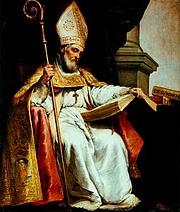 "Foto do autor. As depicted by Bartolomé Esteban Murillo. From <a href=""http://en.wikipedia.org/wiki/Image:Isidor_von_Sevilla.jpeg"">Wikipedia</a>"