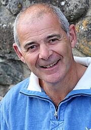Forfatter foto. Myrddin ap Dafydd yn 2018.