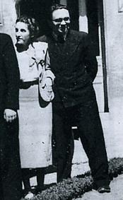Author photo. Eric de Grolier en compagnie de son épouse Georgette de Grolier-Ocasian