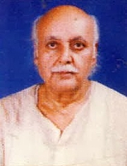 Foto del autor. Prof. Shrikant Parson