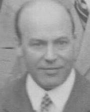Fotografia de autor. Edward Andrade in London, 1934 [credit: Gerhard Hund]