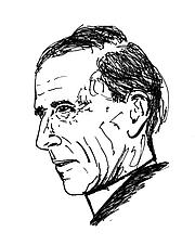 Författarporträtt. wikimedia commons - portait by Rama