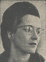 Author photo. Cut down scan from back cover of Penguin No.718. Unattributed photo.