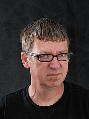 Foto de l'autor. Derf Backderf/aka John Backderf
