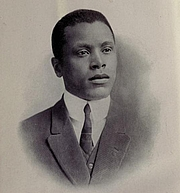 Author photo. Oscar Micheaux. Frontispiece from The conquest; the story of a negro pioneer (1913)
