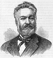 Author photo. Harper's New Monthly Magazine, No. 305, October, 1875 (Wikimedia Commons)