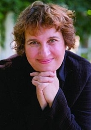 """Author photo. Sharon Salzberg. Photograph copied from interview at <a href=""""http://blog.timesunion.com/holistichealth/real-happiness-an-interview-with-sharon-salzberg/5138/"""" rel=""""nofollow"""" target=""""_top"""">TimesUnion.com</a>"""