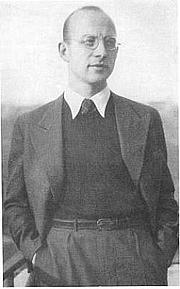 Fotografia de autor. Franz Carl Weiskopf 1936 in Prag