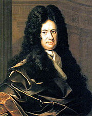 Author photo. Painting by Bernhard Christoph Francke (ca. 1700)
