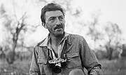 Author photo. Thurston Hopkins on a cattle ranch in Australia, about 1953.