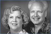 Foto de l'autor. Giulio Maestro with wife and co-author Betsy Maestro